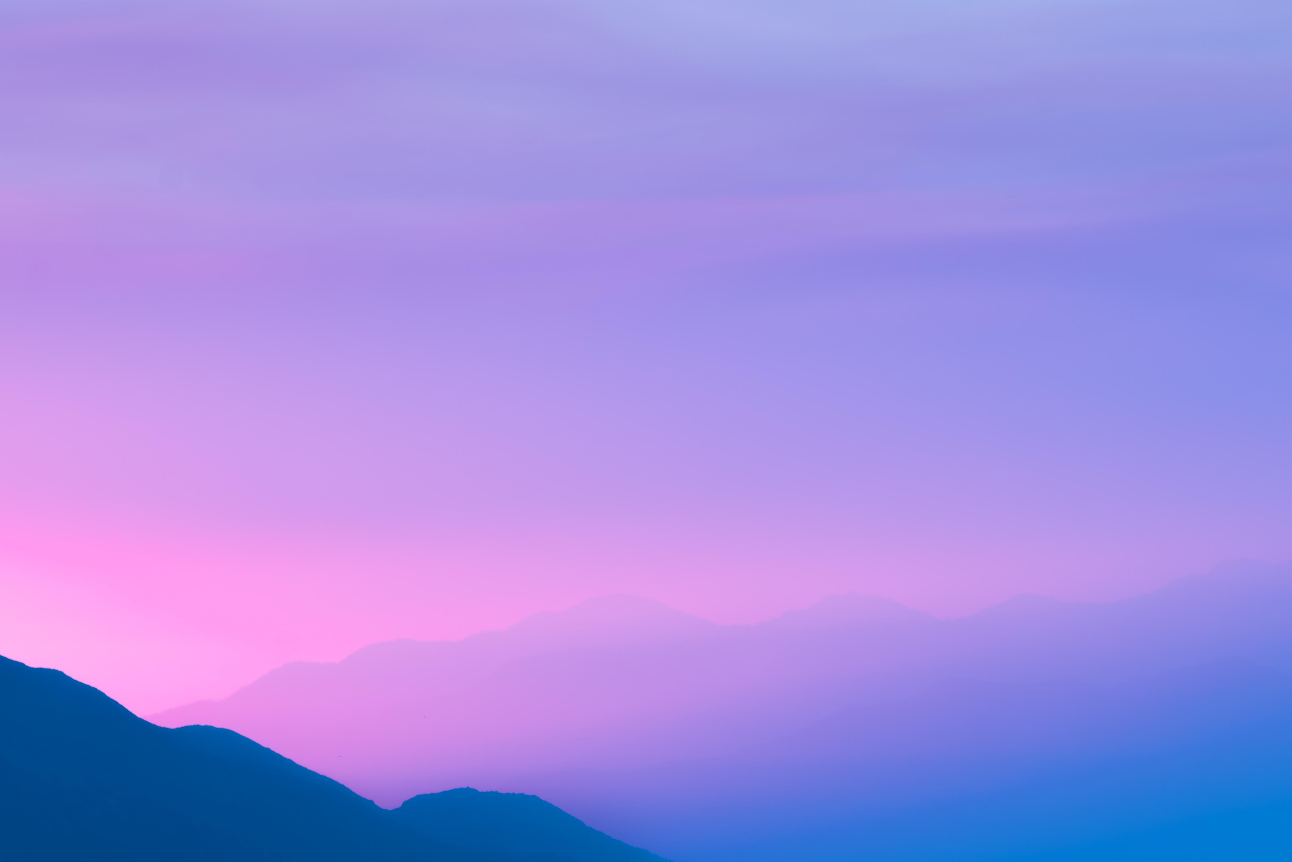 Ảnh background bầu trời màu tím cực đẹp