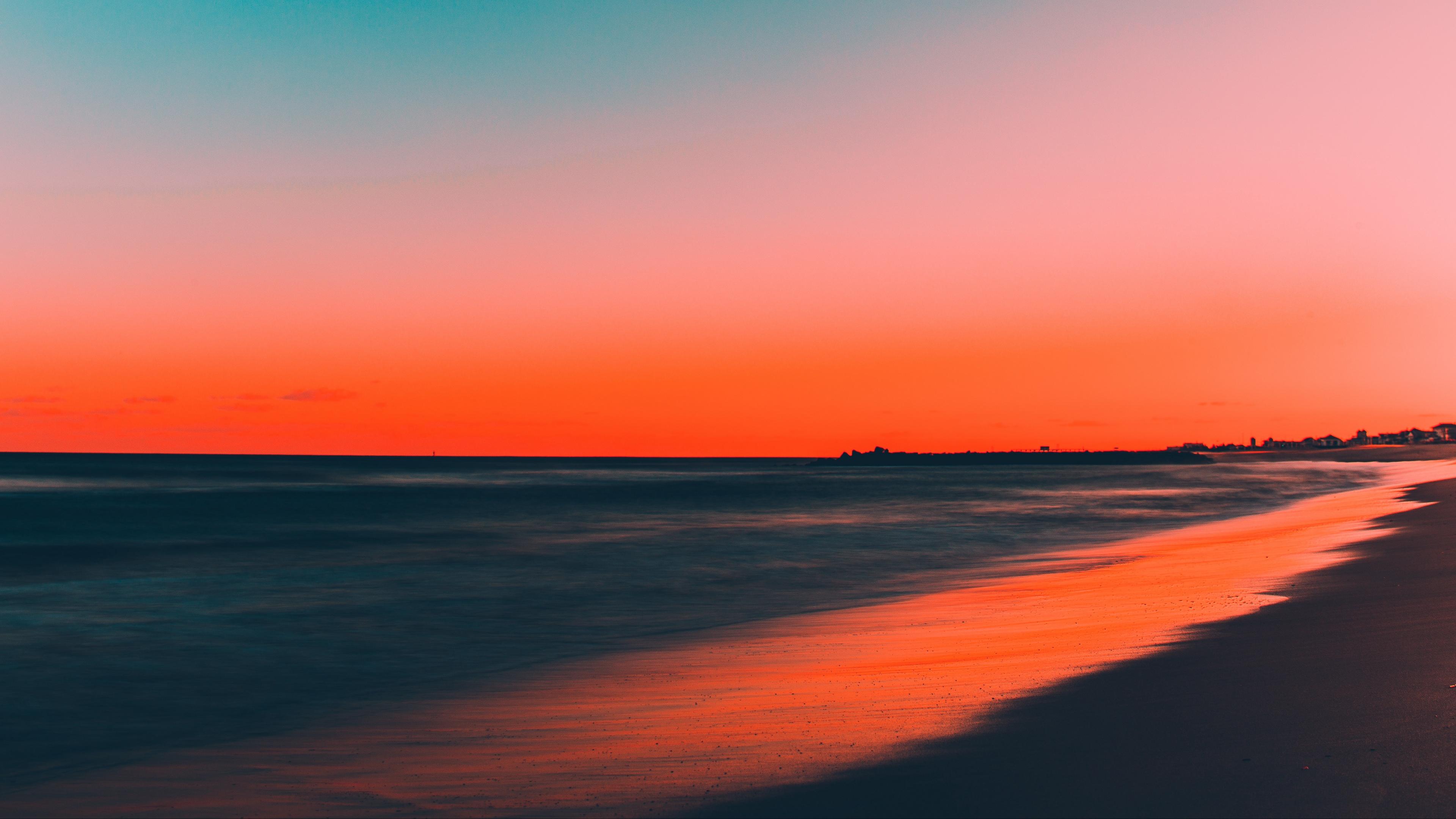 Ảnh background bầu trời ở bờ biển cực đẹp