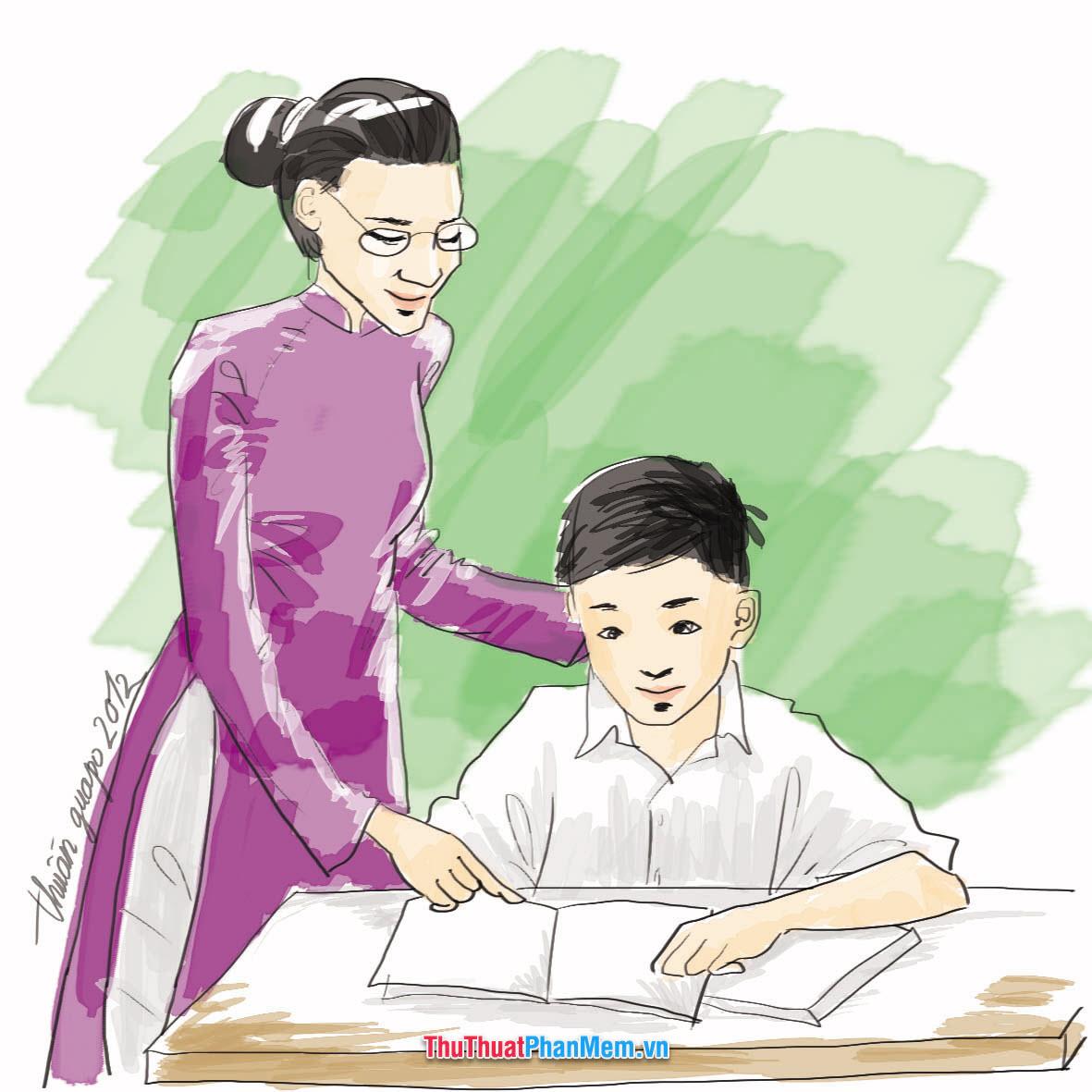 Con kính chúc thầy cô giáo lời chúc tốt đẹp nhất, chúc các thầy cô luôn tràn đầy nhiệt huyết với sự nghiệp cao cả của mình