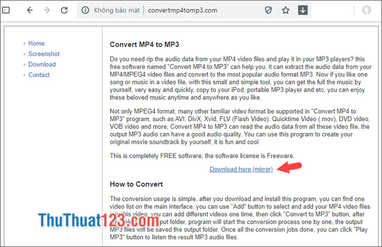 Tải về Convert MP4 to MP3
