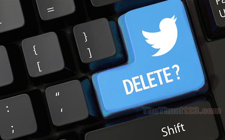 Cách xóa tài khoản Twitter