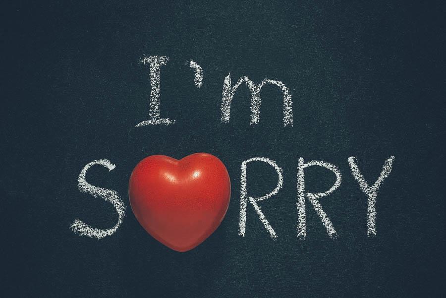 Hình ảnh xin lỗi tình yêu bằng tiếng anh