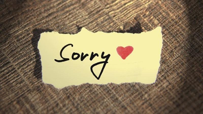Hình ảnh xin lỗi tình yêu