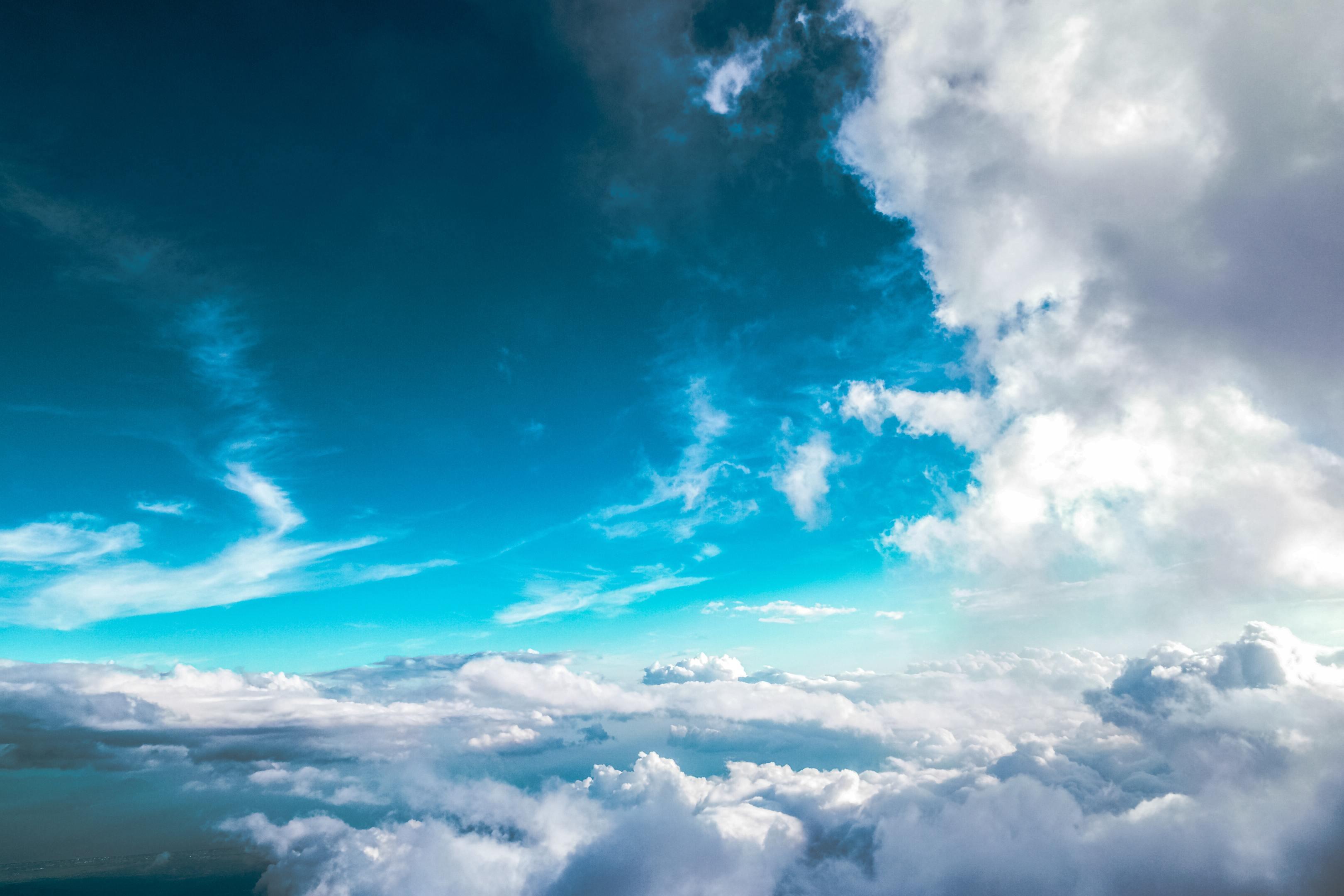 Ảnh bầu trời xanh đẹp nhất