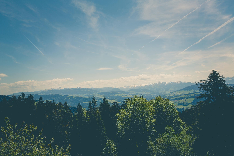 Ảnh bầu trời xanh đơn giản