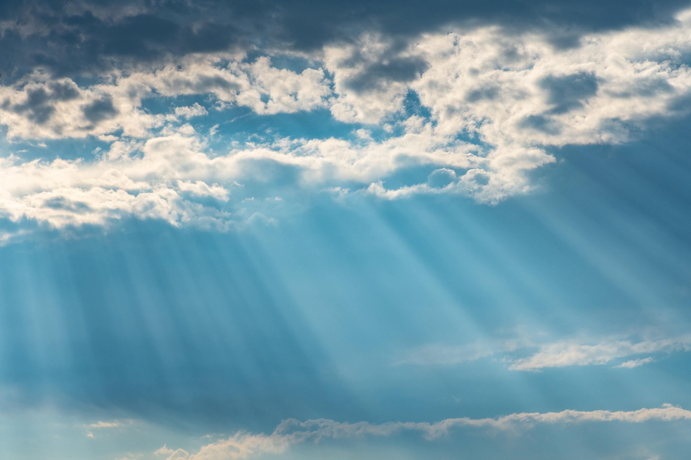 Ảnh bầu trời xanh mây trắng đẹp nhất