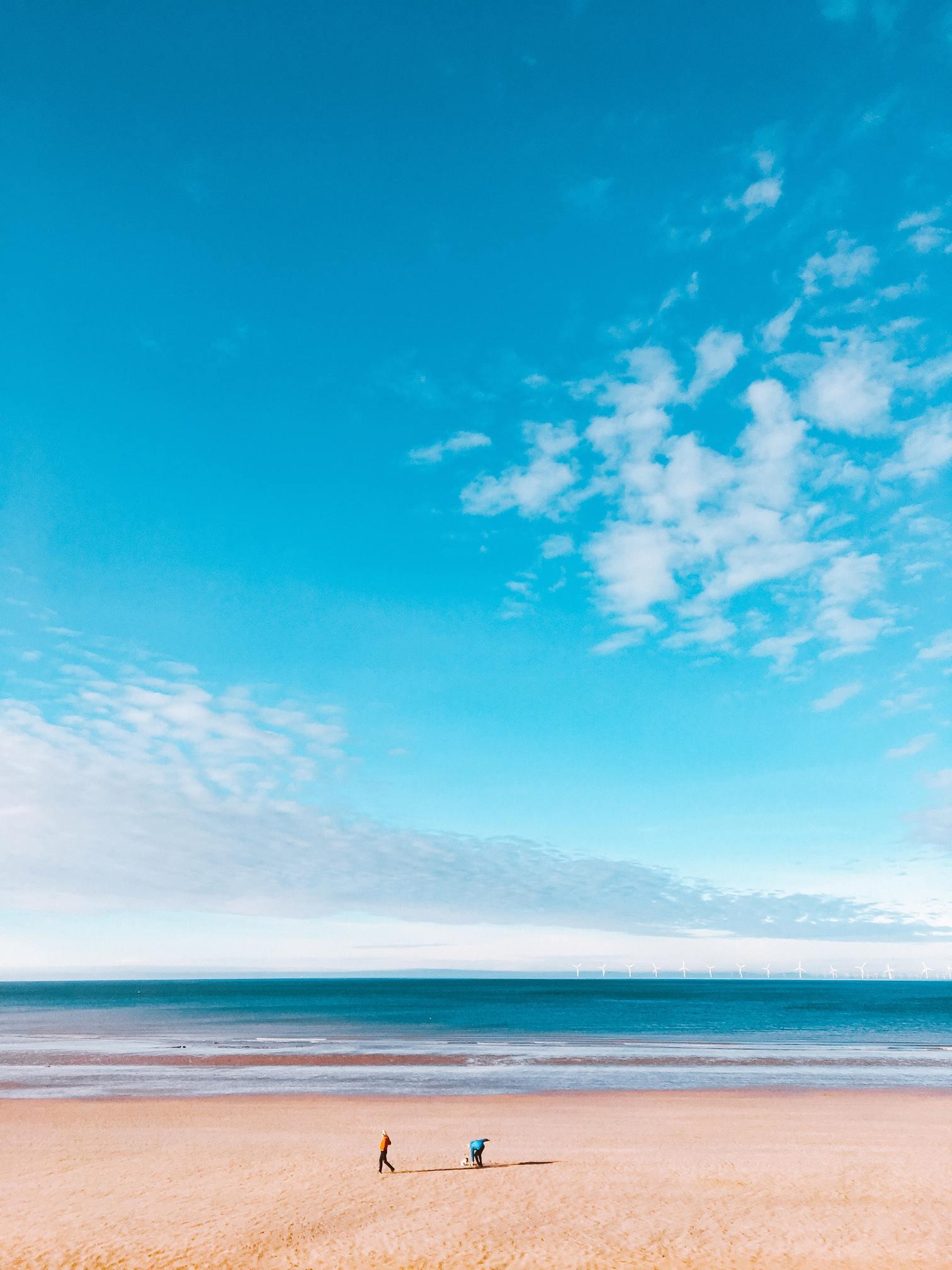 Hình ảnh bầu trời xanh mây trắng đẹp nhất