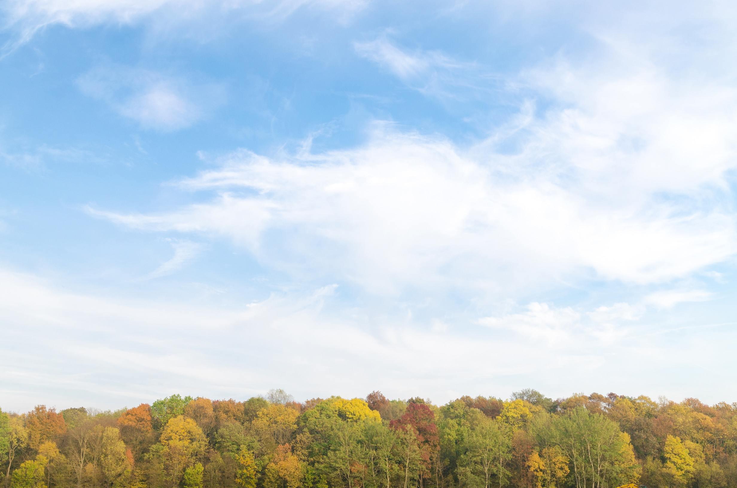 Hình ảnh bầu trời xanh mây trắng