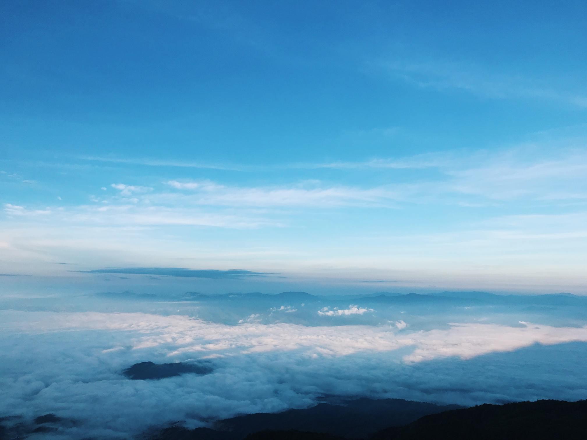 Hình ảnh bầu trời xanh