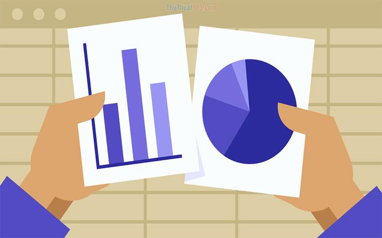 Cách vẽ biểu đồ trong Excel 2010, 2013, 2016, 2019