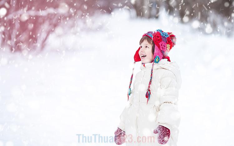 Hình ảnh tuyết rơi đẹp
