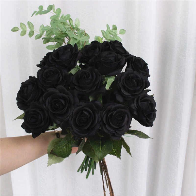 Hình ảnh bó hoa hồng đen đẹp