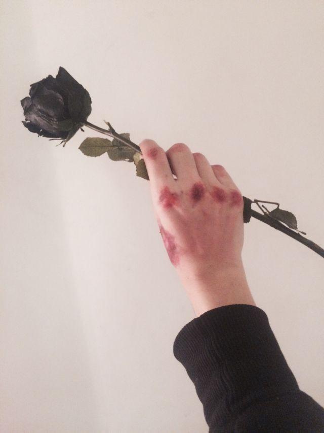 Hình ảnh hoa hồng đen thất tình đẹp nhất