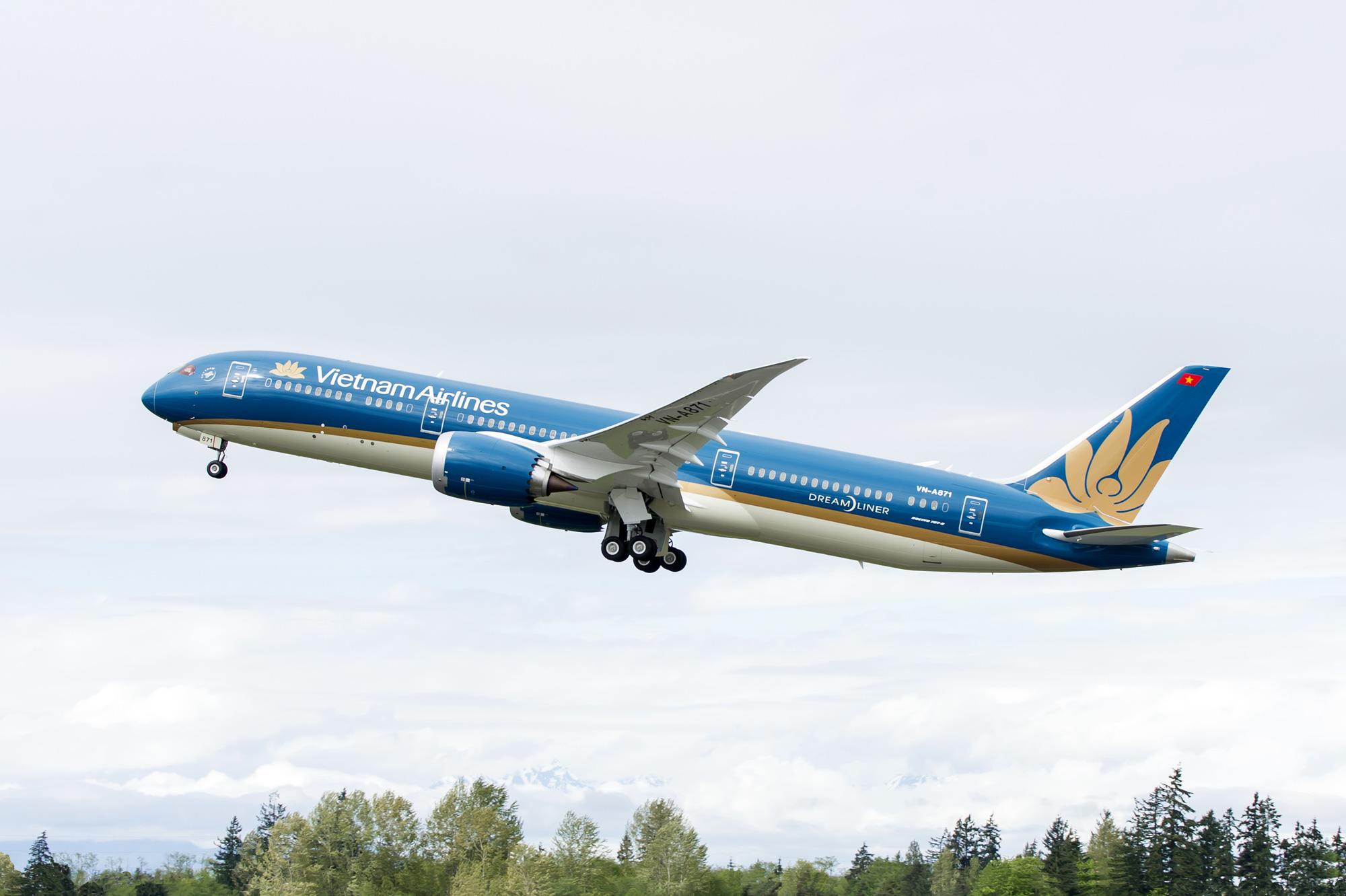 Ảnh máy bay xanh