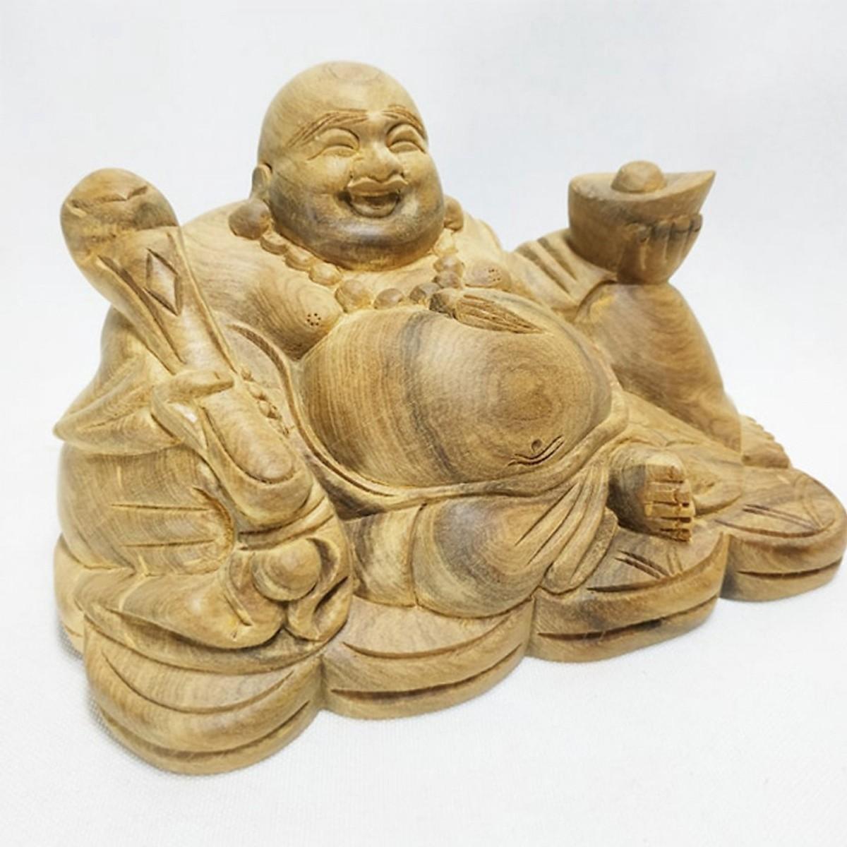 Bức tượng gỗ Phật Di Lặc