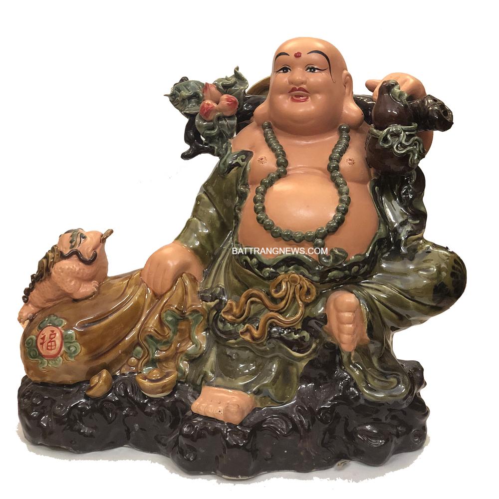 Bức tượng Phật Di Lặc nhỏ