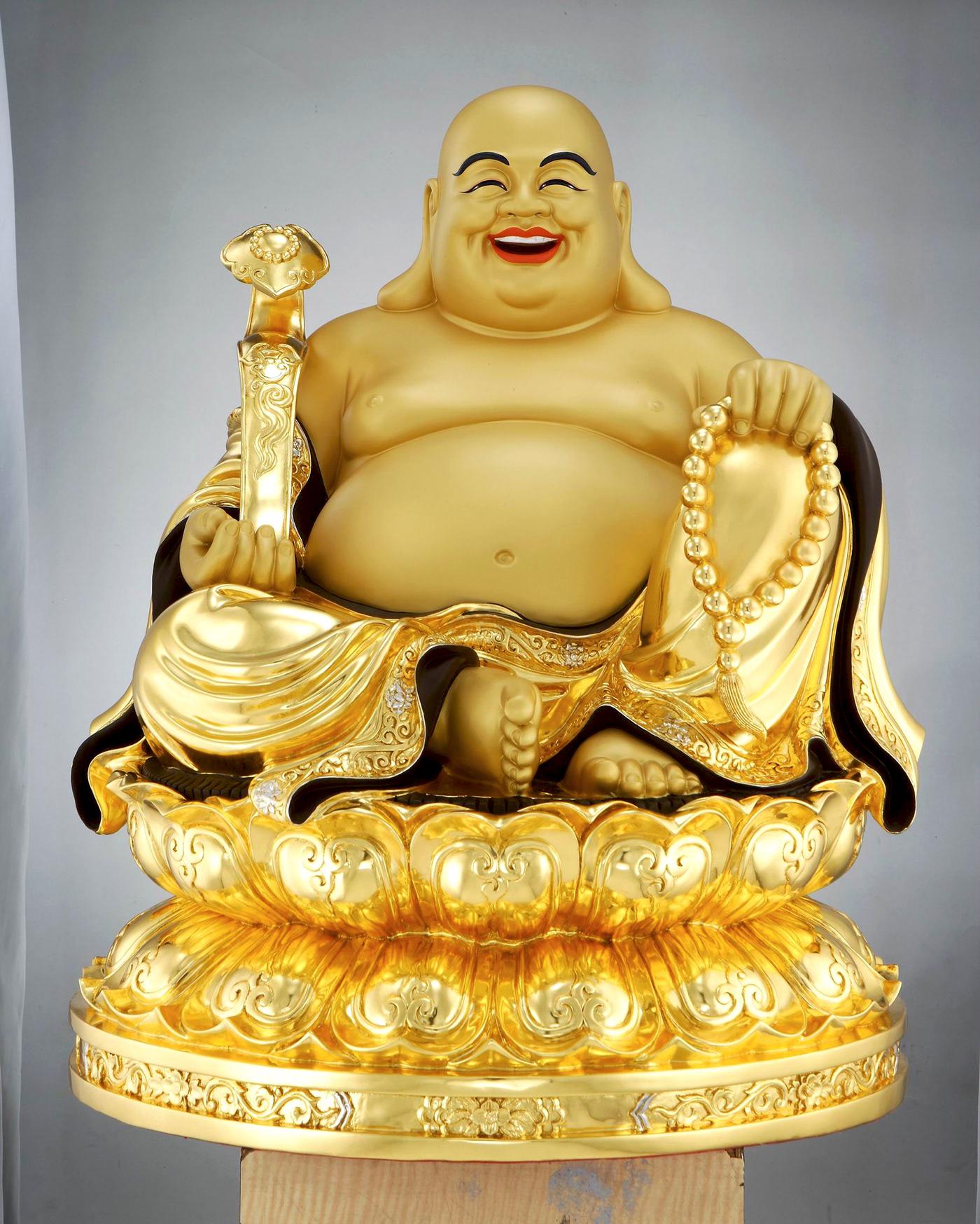 Bức tượng Phật Di Lặc rất đẹp