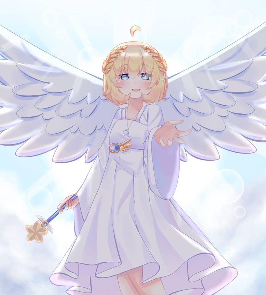 Cô bé thiên thần xinh đẹp đáng yêu