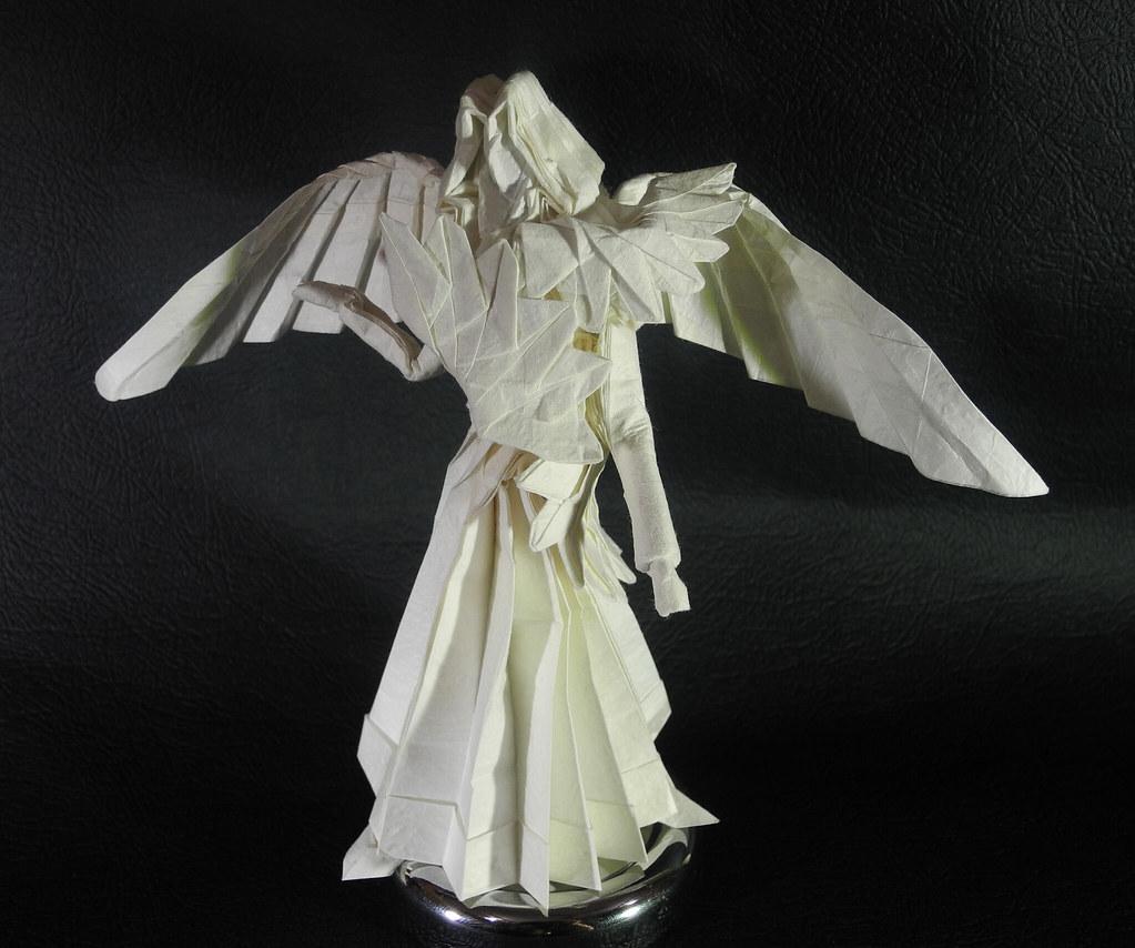 Gấp giấy hình thiên thần cực chất