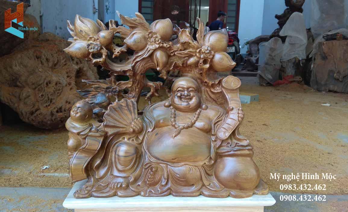 Gỗ Phật Di Lặc cực đẹp
