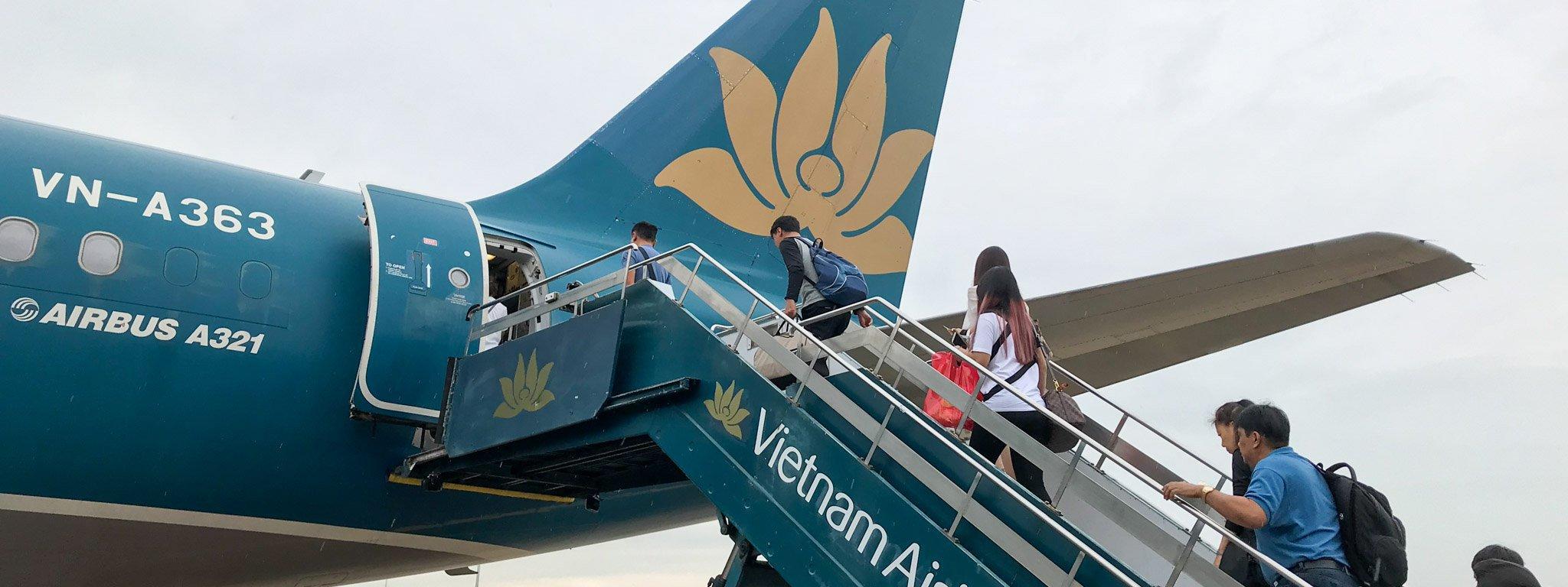 Hành khách Vietnam máy bay