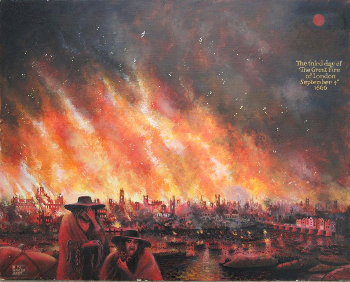 Hình ảnh cả thành phố cháy trong lửa