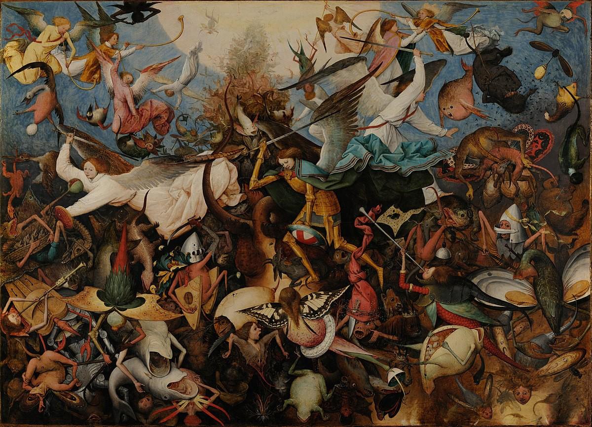 Hình ảnh cuộc chiến thiên thần cực đẹp
