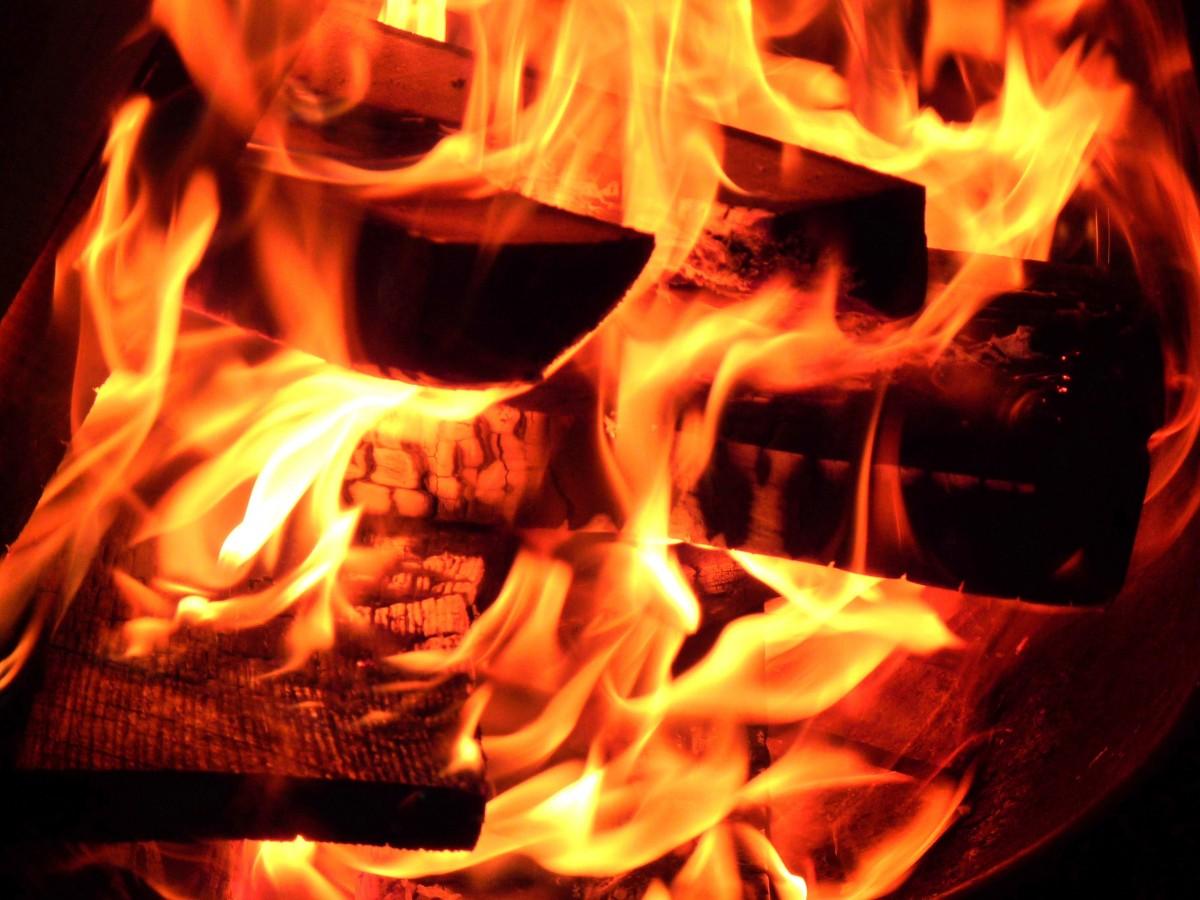 Hình ảnh lửa than cực đẹp
