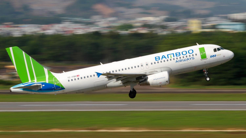 Hình ảnh máy bay Bamboo