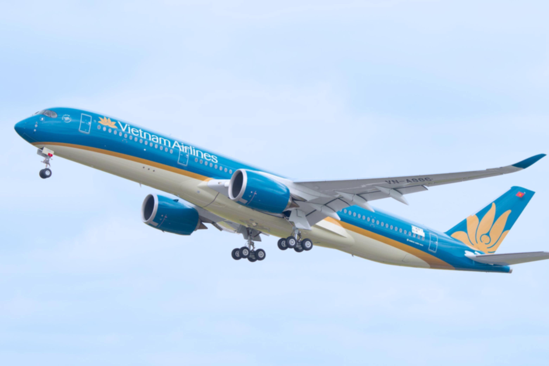 Hình ảnh máy bay đang bay