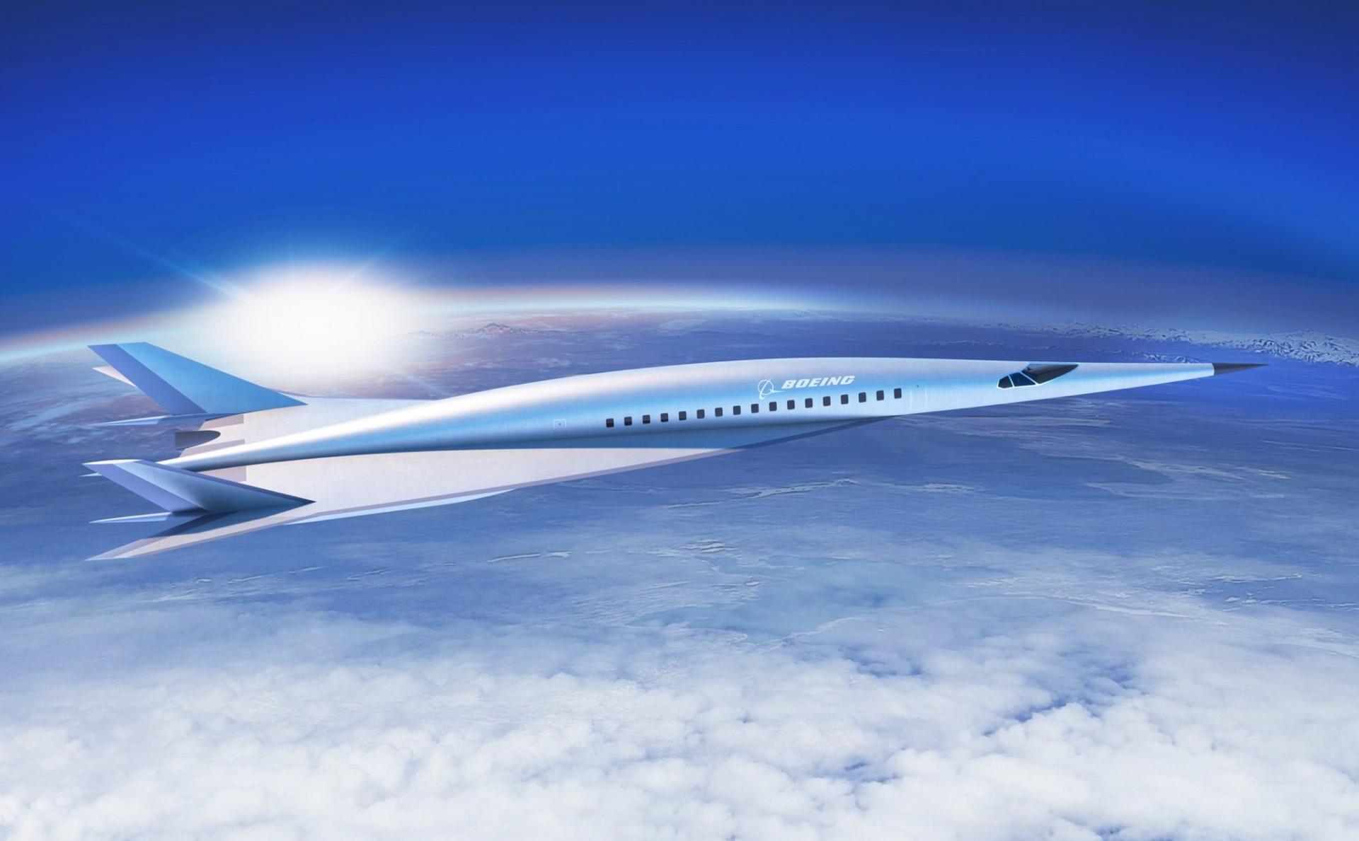 Hình ảnh máy bay đầu nhọn
