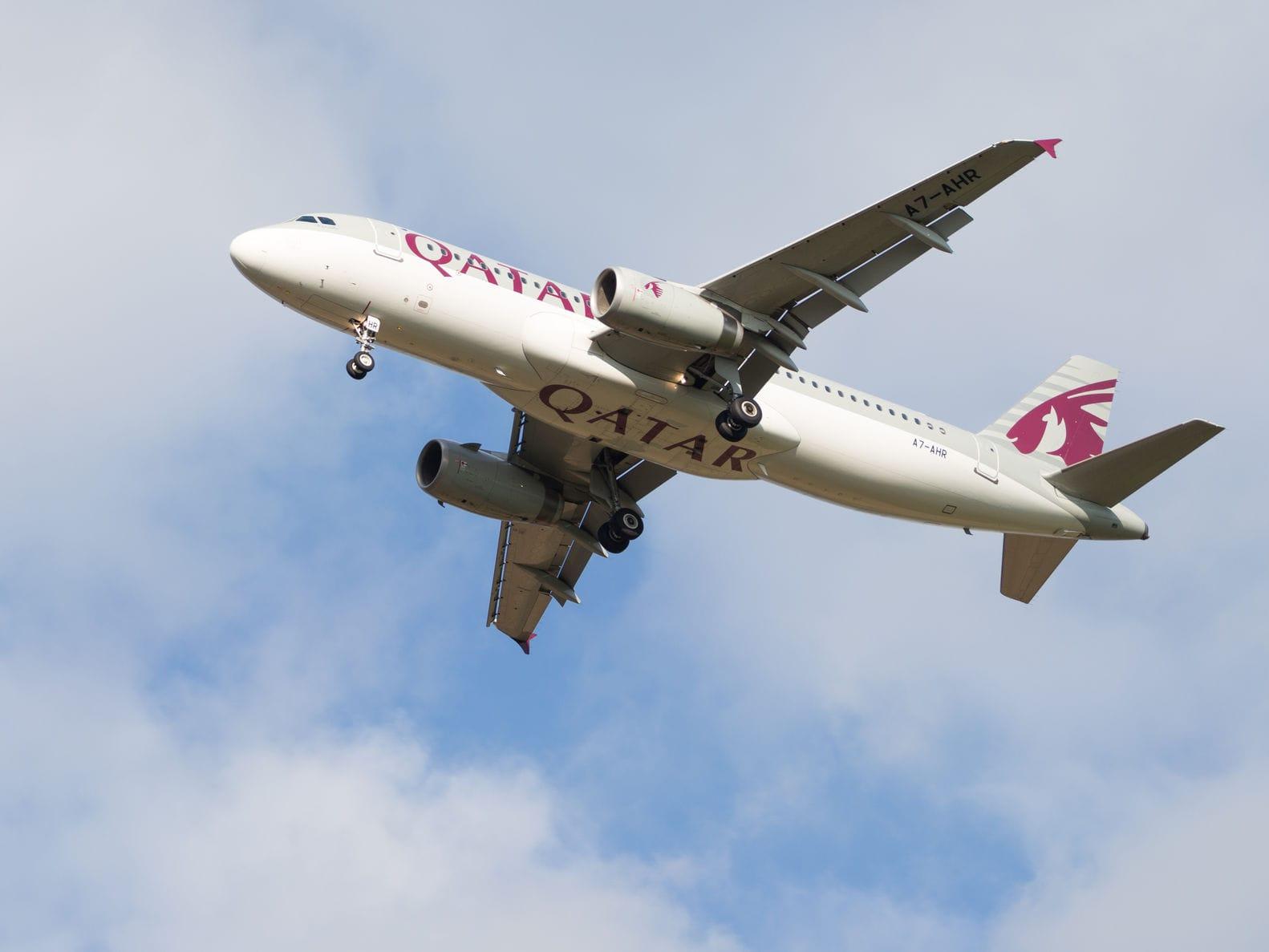 Hình ảnh máy bay Qatar