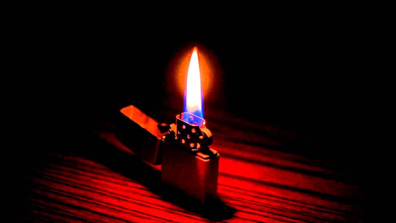 Hình ảnh ngọn lửa bật lửa zippo