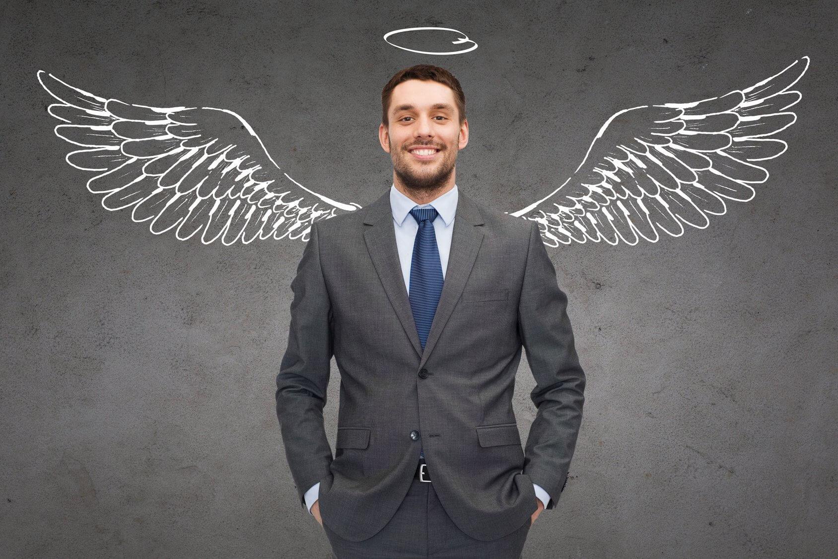 Hình ảnh người đàn ông thiên thần