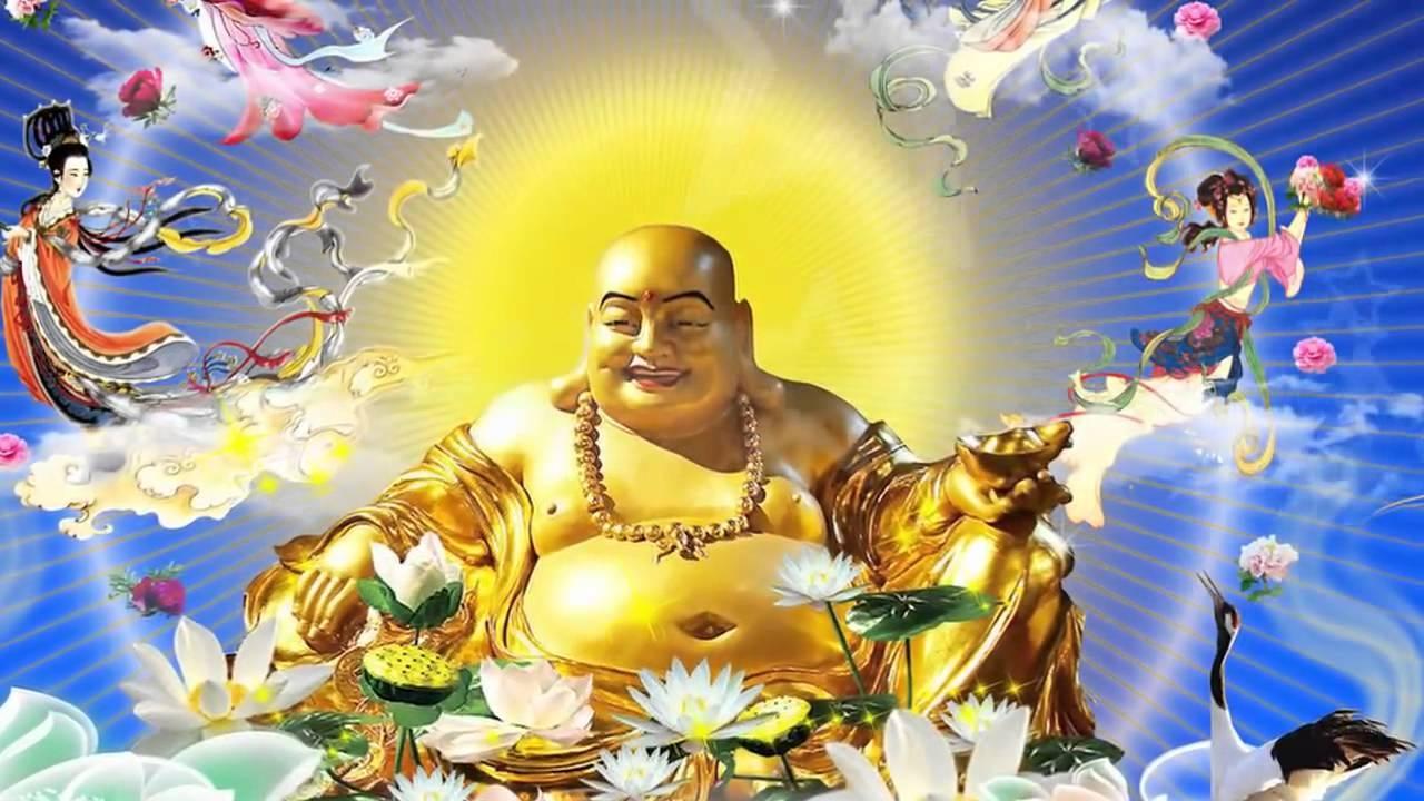 Hình ảnh Phật DI Lặc đài sen