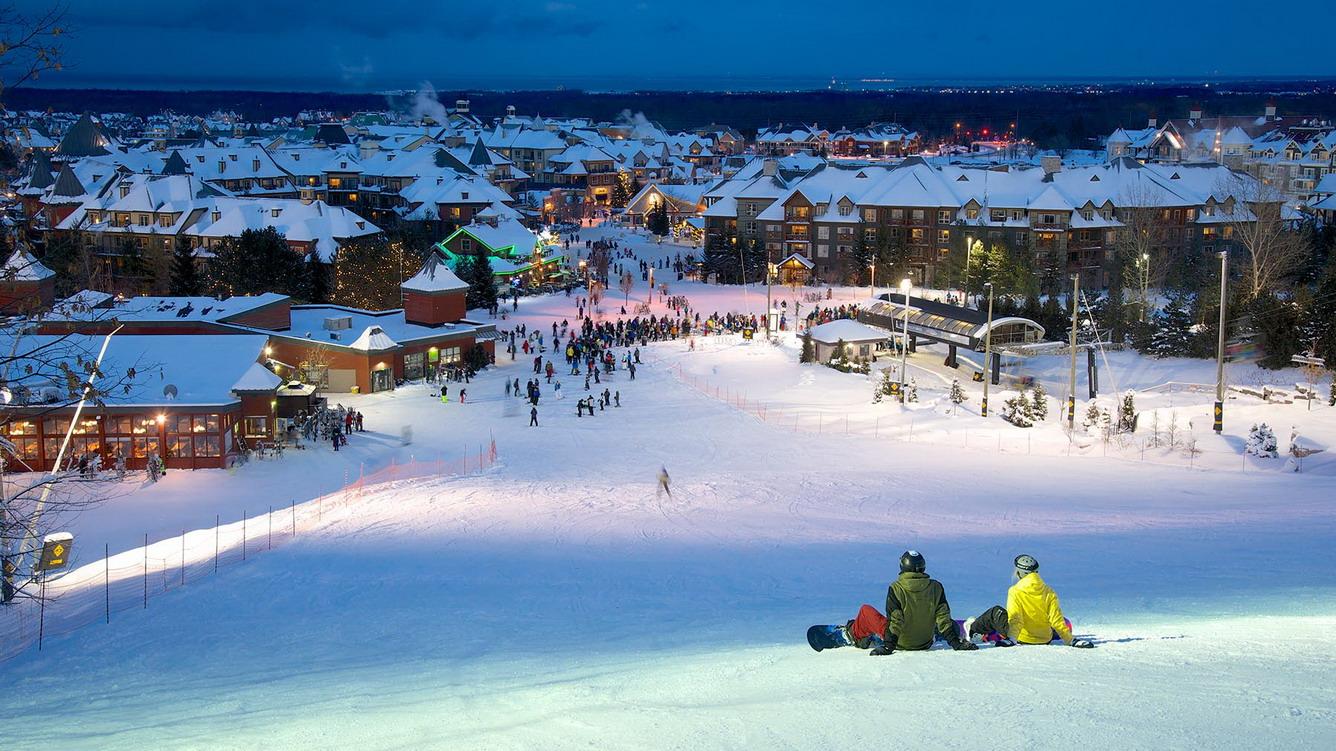 Hình ảnh thị trấn phủ tuyết cực đẹp