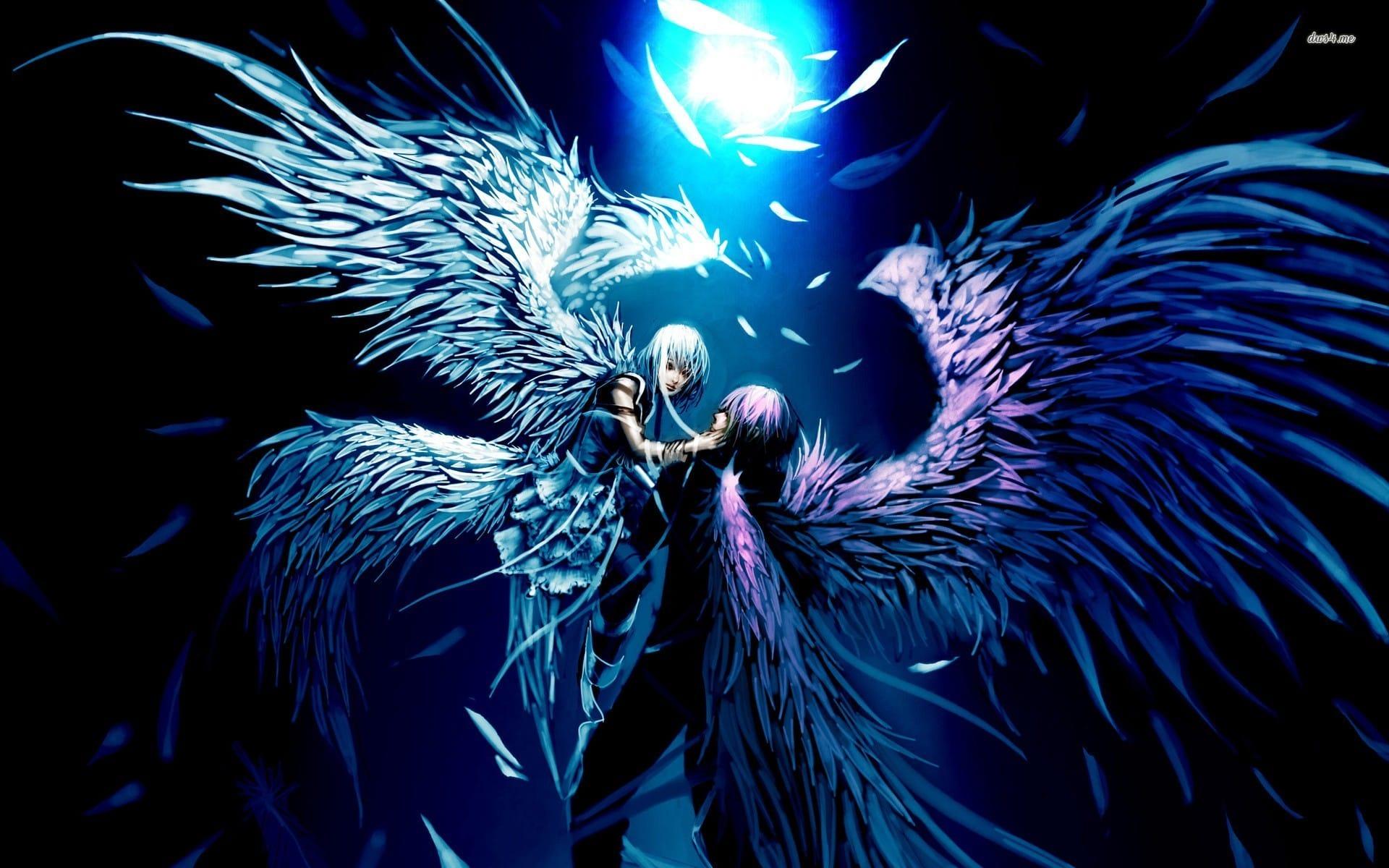 Hình ảnh thiên thần cực đẹp sà xuống