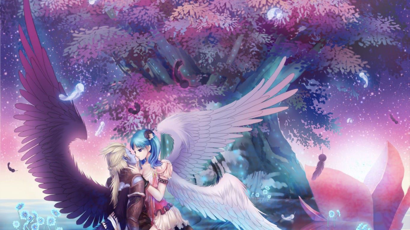 Hình ảnh thiên thần sa vào lưới tình