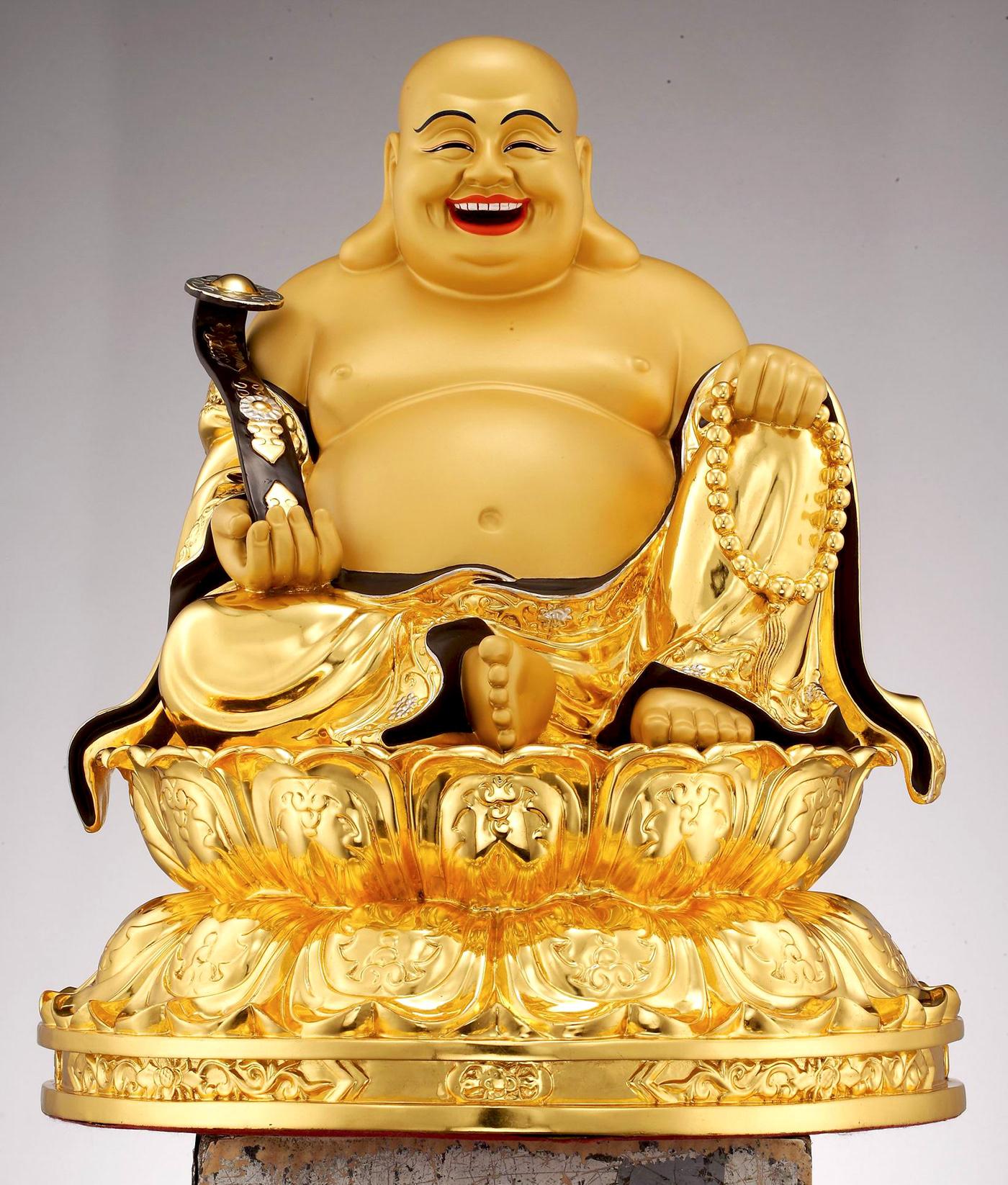 Hình ảnh tượng Phật Di Lăc đẹp
