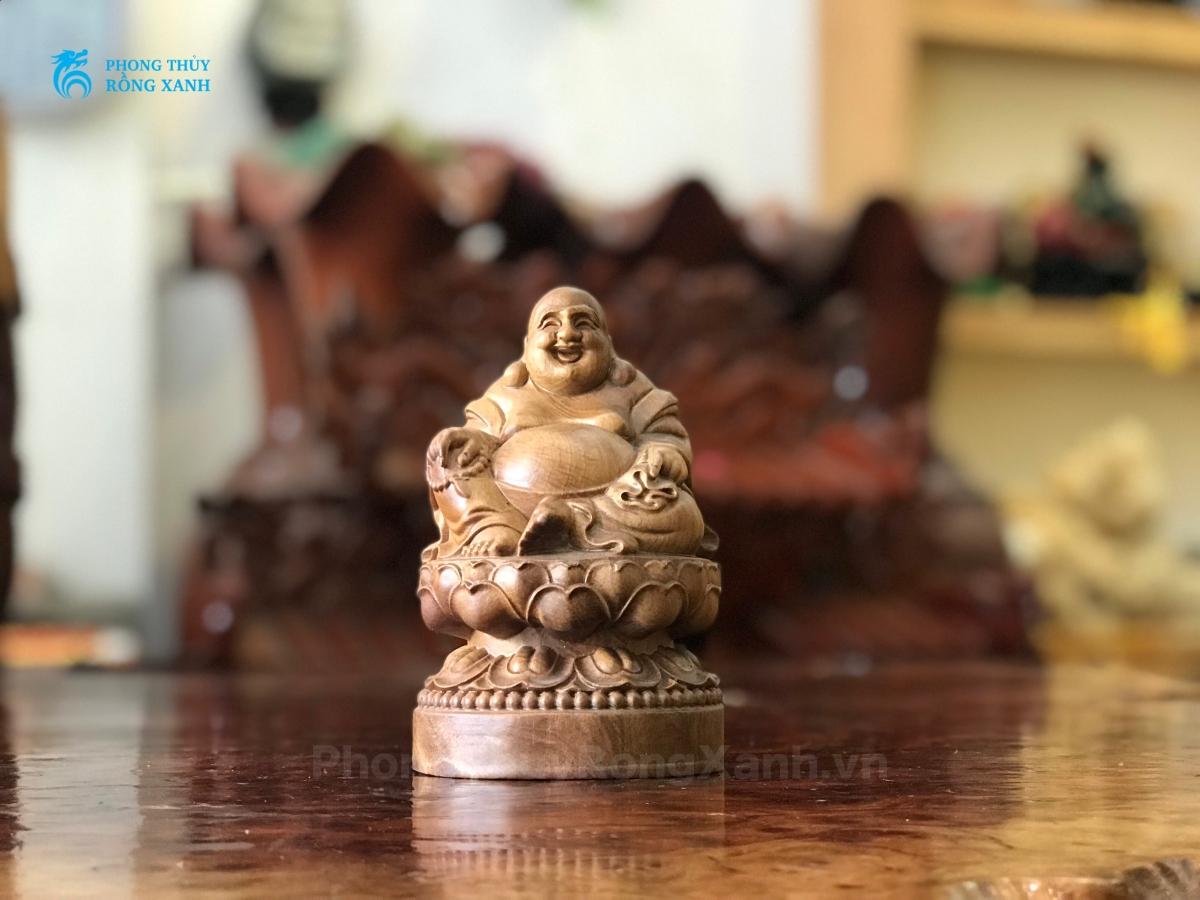 Hình ảnh tượng Phật Di Lặc nhỏ đẹp