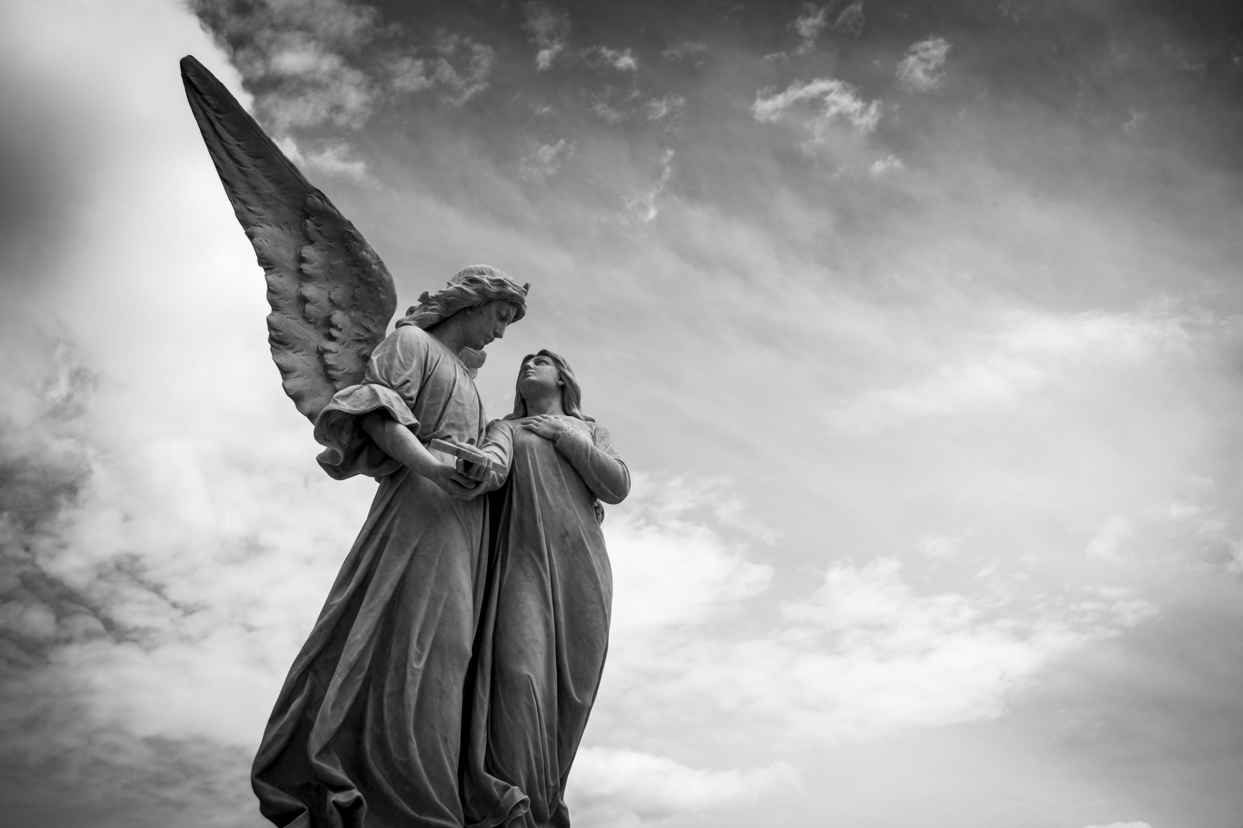 Hình ảnh tượng thiên thần rất đẹp