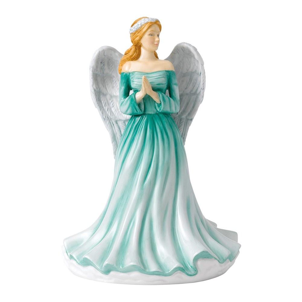 Hình ảnh tượng thiên thần váy xanh