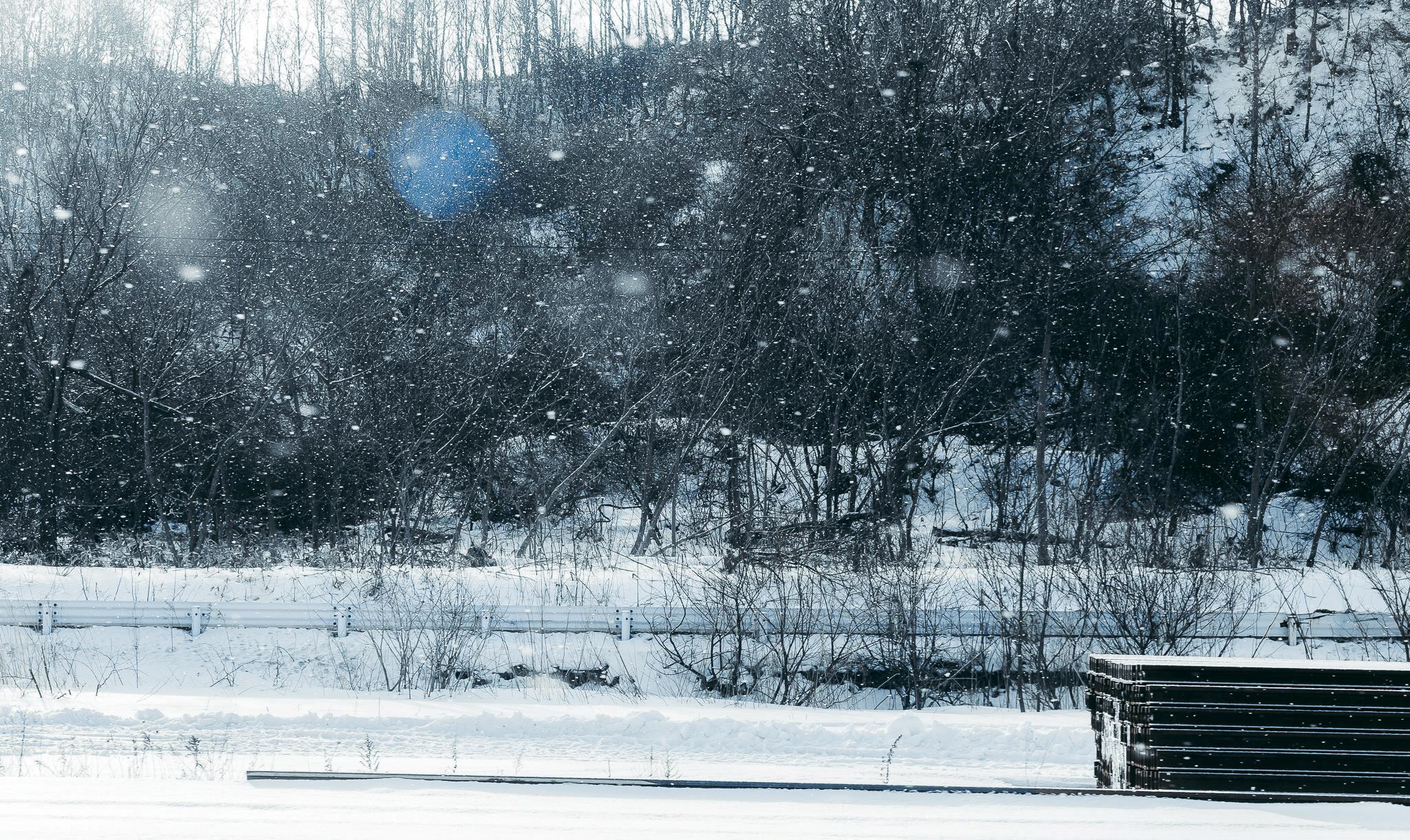 Hình ảnh tuyết rơi cực đẹp mắt