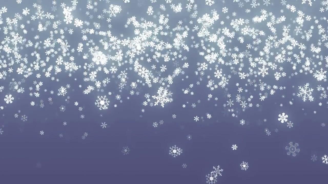 Hình ảnh tuyết rơi hình vẽ cực đẹp