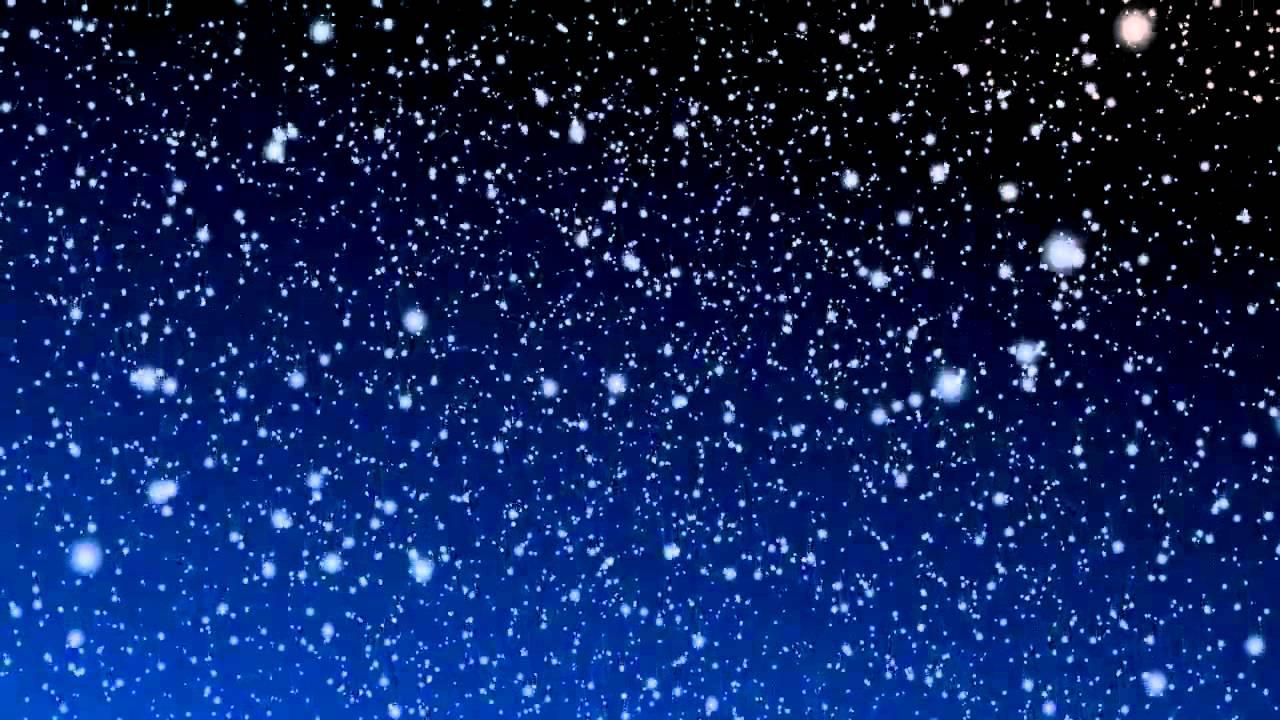 Hình ảnh tuyết rơi trời đêm