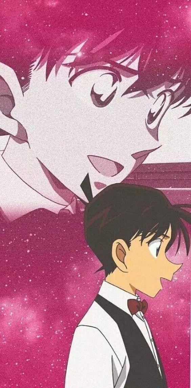 Hình nền điện thoại đôi cực đẹp Ran và Shinichi 2