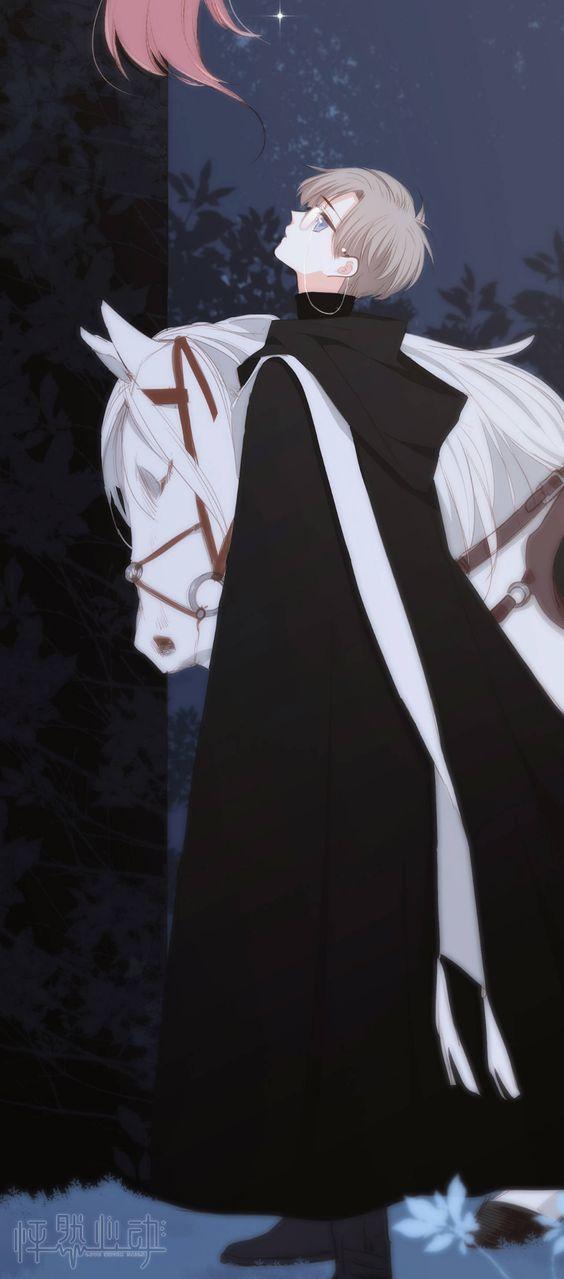 Hình nền điện thoại đôi hoàng tử bạch mã và nàng công chúa tóc mây 1