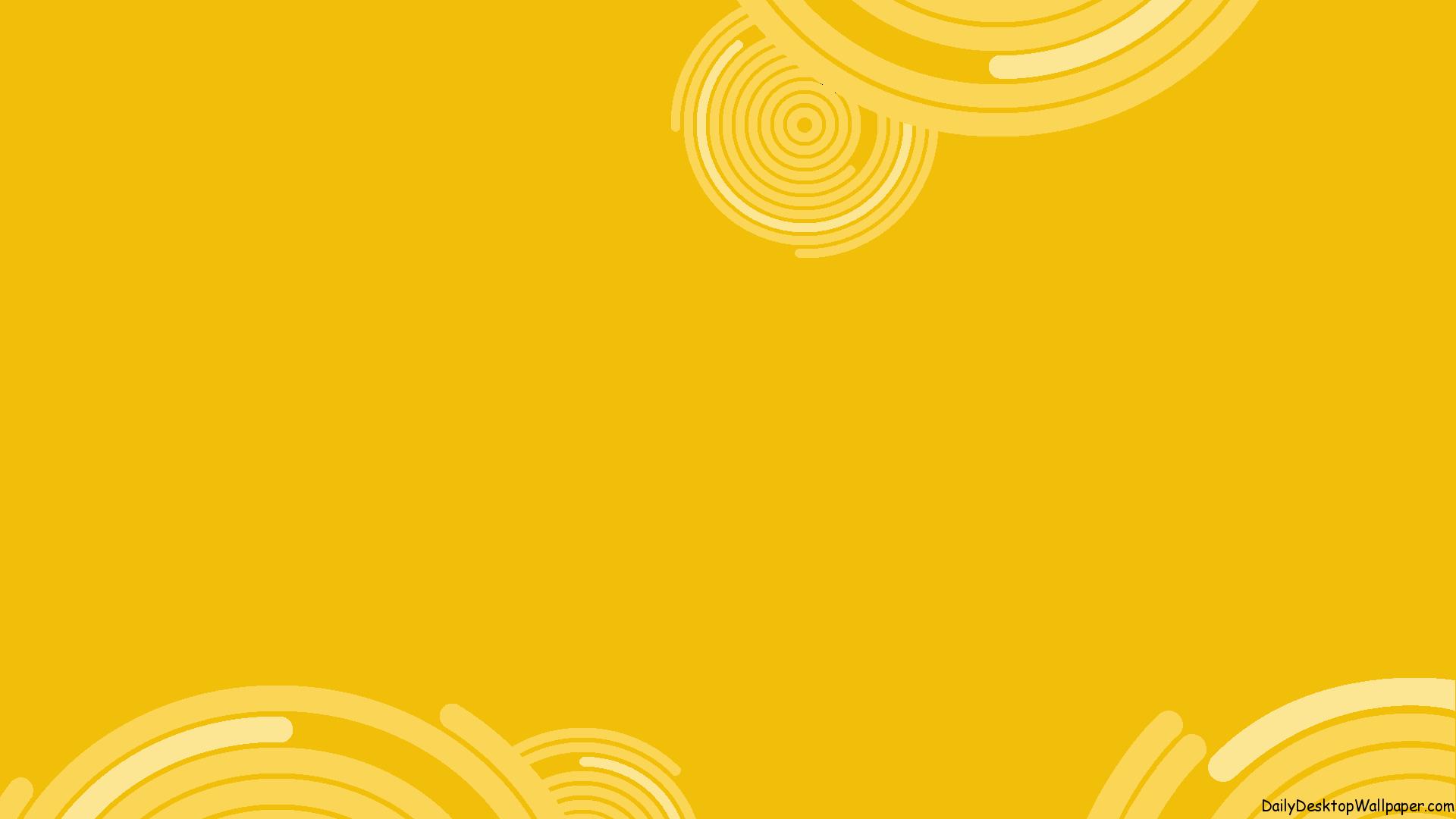 Hình nền màu vàng họa tiết hình tròn