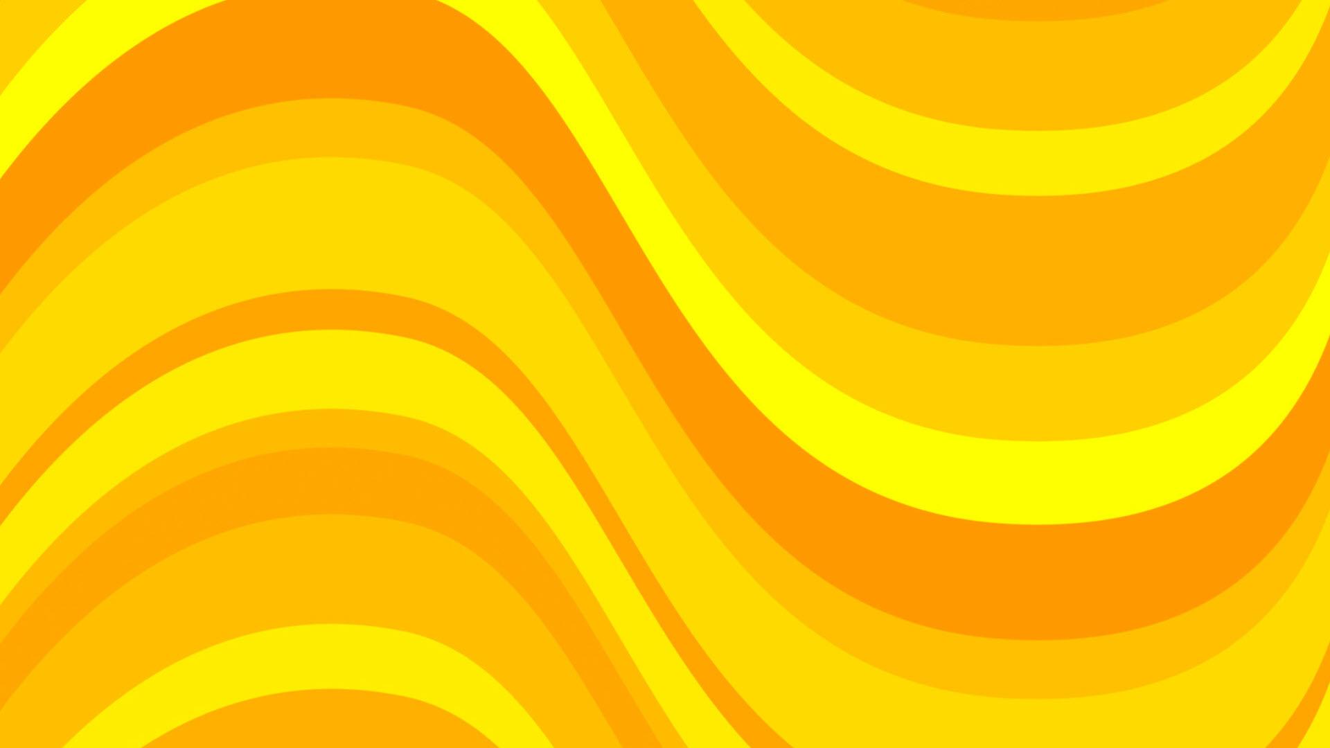 Hình nền màu vàng uốn lượn sóng