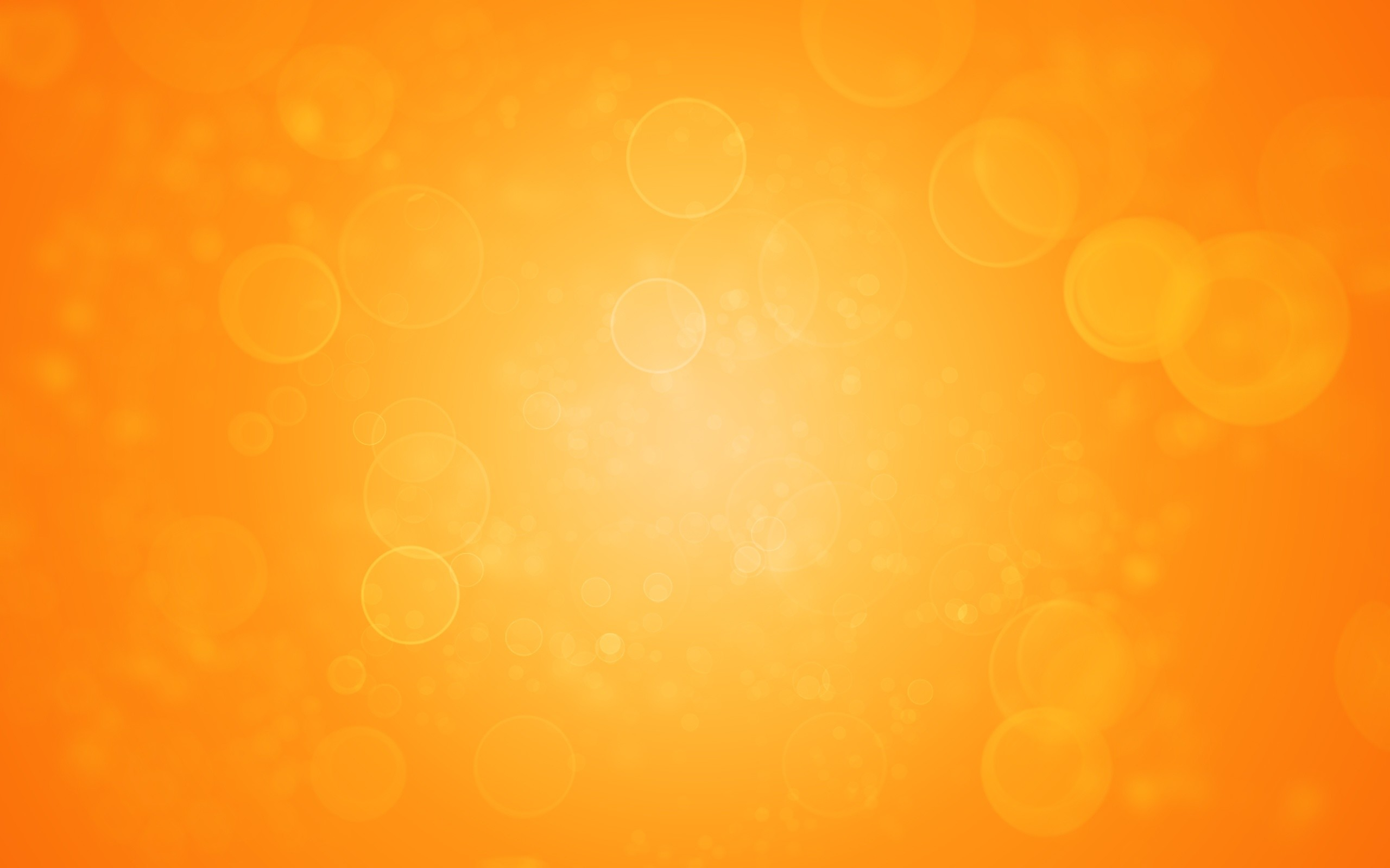 Hình nền vàng cam bong bóng rực rỡ